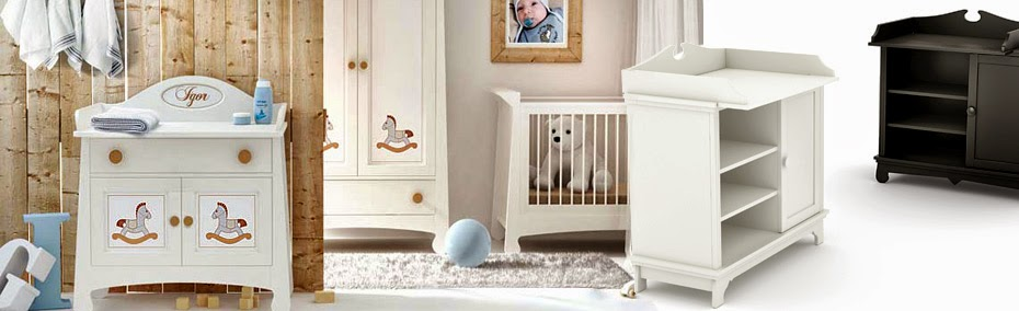 Skötbord som underlättar blöjbyten och blir vacker barnmöbel