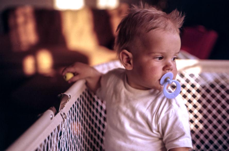 Bebis spjälsäng
