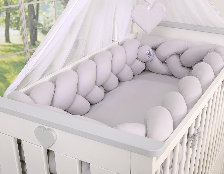 Spjälskyddet behövs för att bebisen kan sova tryggt